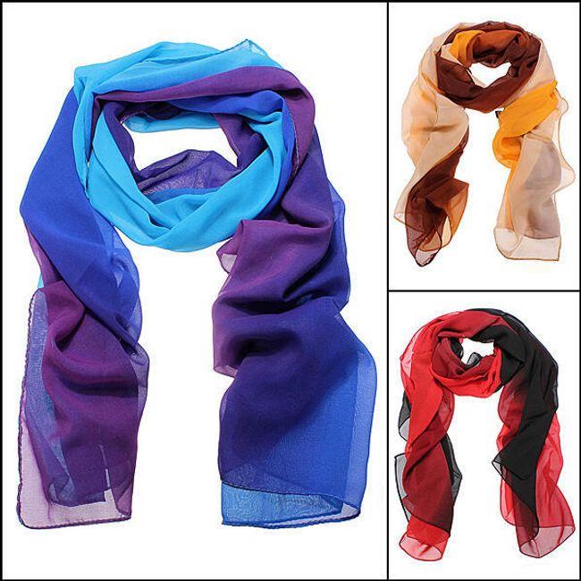 Dámská módní šála - na výběr ze 2 barevných kombinací 1