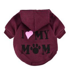 Obleček pro psa - I LOVE MY MOM - 5 barev