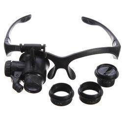 Zvětšovací brýle - 4 vyměnitelné objektivy s různým přiblížením