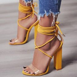 Dámské boty na podpatku Domitilla