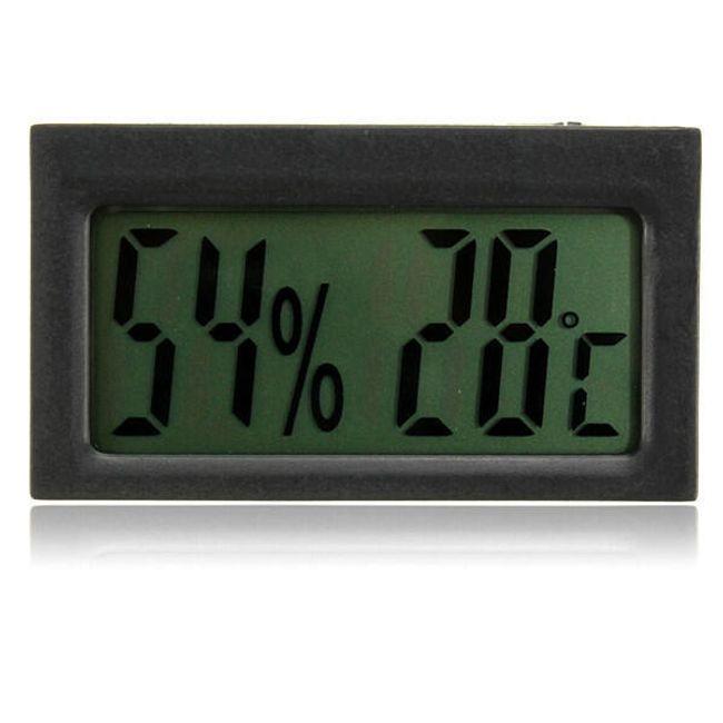 Termometru LCD cu higrometru 2 în 1 1