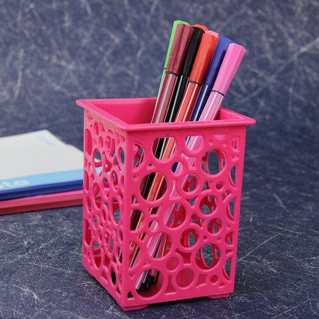 Stojánek na tužky - 4 barvy 1