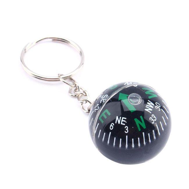Kompas - obesek za ključe 1