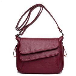 Ženska torbica od umjetne kože u više boja