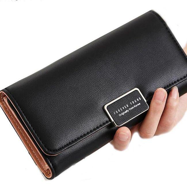 Elegantna ženska denarnica - nežne barve 1
