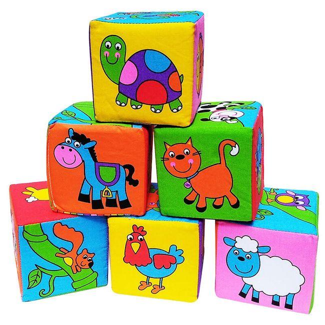 Kostki 3D dla dzieci Picco 1