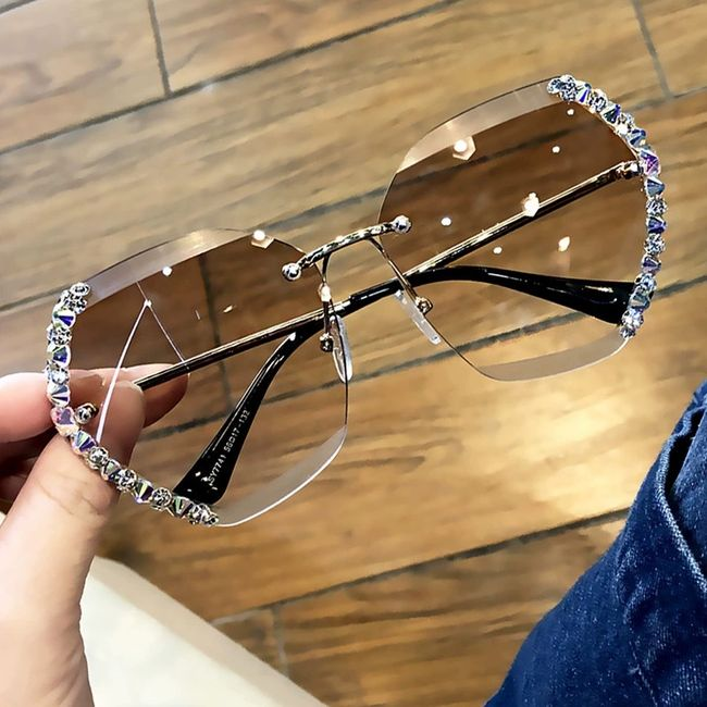 Damskie okulary przeciwsłoneczne B08790 1