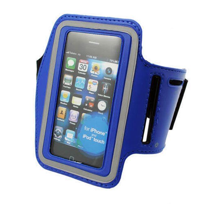 Pouzdro na ruku pro iPhone a iPod - modré 1