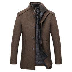 Pánsky kabát s odopínacou vestou Henrik