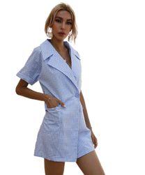 Rochie cămașă pentru femei BR_CZFZ00492