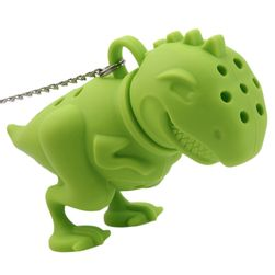 Ситечко для заварки чая в форме динозавра