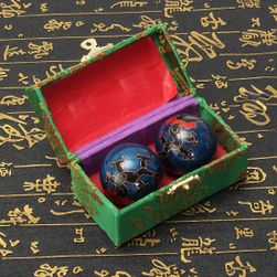 Čínské meditační koule pro uvolnění stresu
