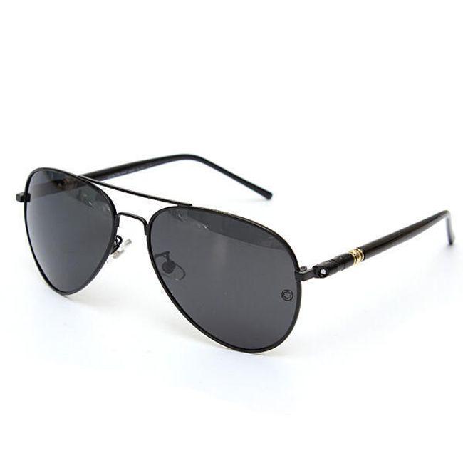 Stílusos férfi pilota szemüveg - fekete 1