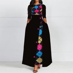 Obleka za močnejše dame Abiageal