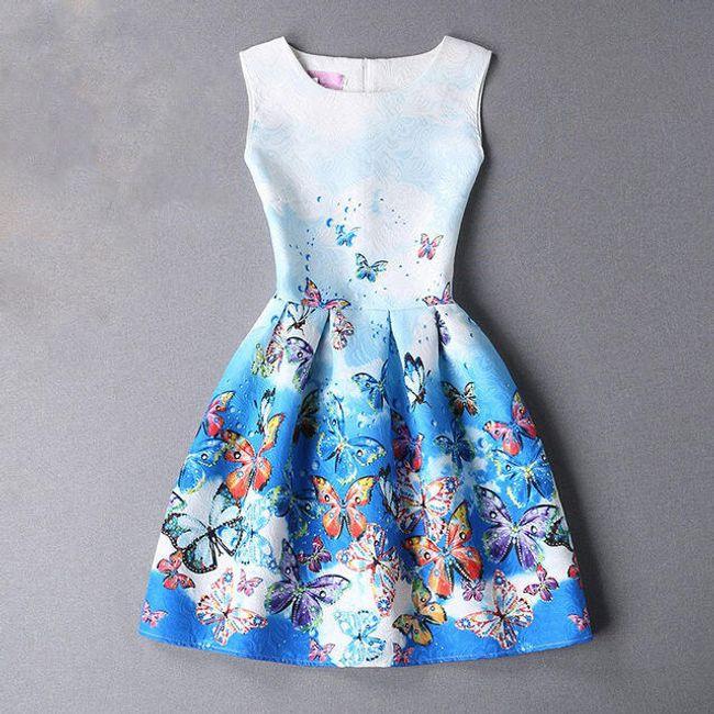 Letní vintage šaty - 23 variant 1