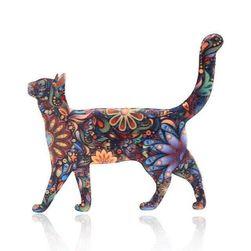 Брошь Cat1