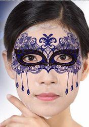 Masca din colagen pentru ten - model carnaval
