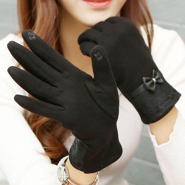 Mănuși de damă pentru ecran tactil 1
