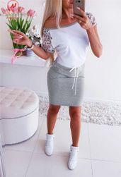 Платье с короткими рукавами Mychelle