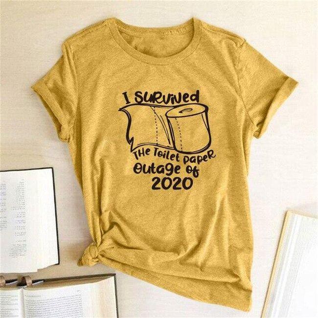 Damska koszulka z krótkim rękawem Kristen 1