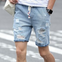 Pantaloni scurți cu găuri pentru bărbați