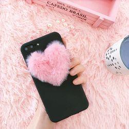 Fedje le szőrös szívvel iPhone vagy Samsung készülékhez - 3 változat
