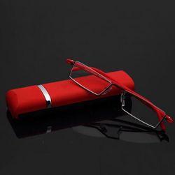 Bralna očala s etuijem - 2 barvi