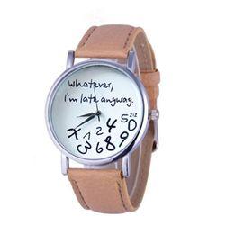 Дамски часовник - повече цветове