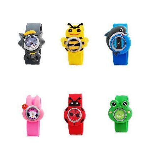Dětské hodinky s motivem zvířátek - 6 druhů 1