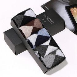 Čarape za muškarce različitih dezena - 8 varijanti