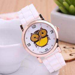 Ručni sat sa printom u obliku sovice