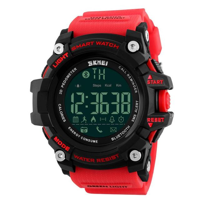 Chytré digitální hodinky - 3 barvy 1