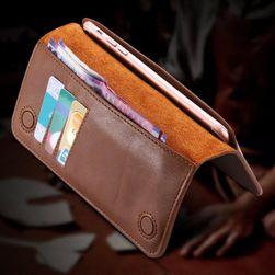 Univerzální pouzdro na mobil s peněženkou - více barev