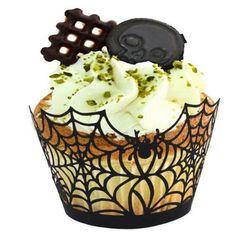 Halloweenský košíček na muffin - 12 kusů