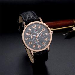Pánské elegantní hodinky z PU kůže