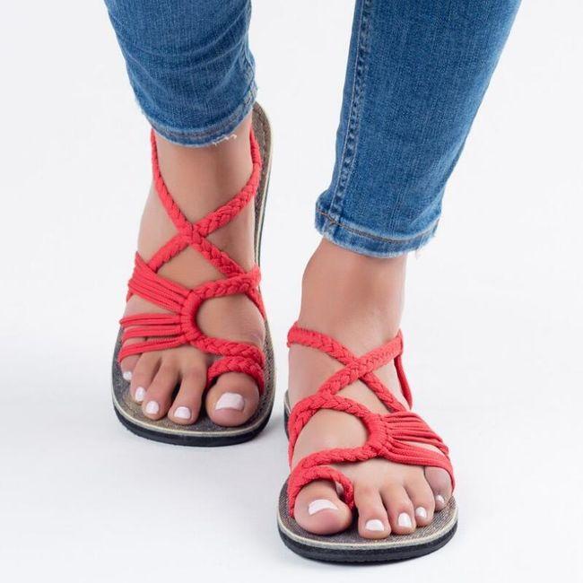 Ženske sandale Rome 1