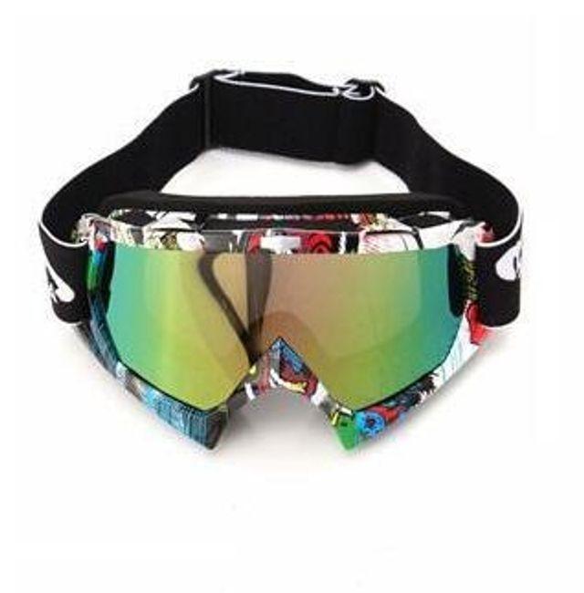 Ochelari motocros în diverse culori 1