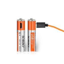 Nabíjecí AAA baterie s konektorem