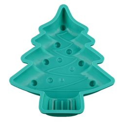 Silikonová formička ve tvaru vánočního stromečku