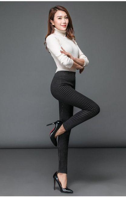 Női bélelt leggings Medrin