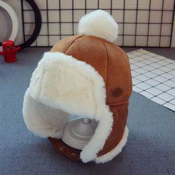 Детская шапка ушанка Mae