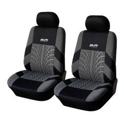 Lastik desenlievrensel oto koltuğu kılıfı Ön koltuklar için set (4 adet)