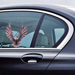 Naklejka samochodowa z motywem USA