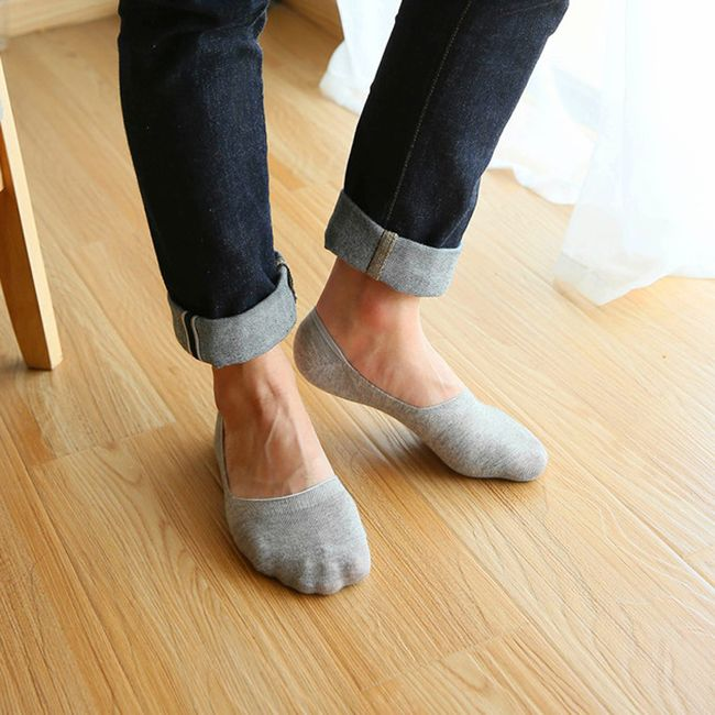 Moške nevidne nogavice - 5 parov 1