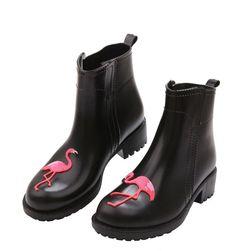 Damskie buty do kostki JNH58