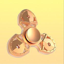Trojitý fidget spinner s kovovými ložisky - 4 barvy