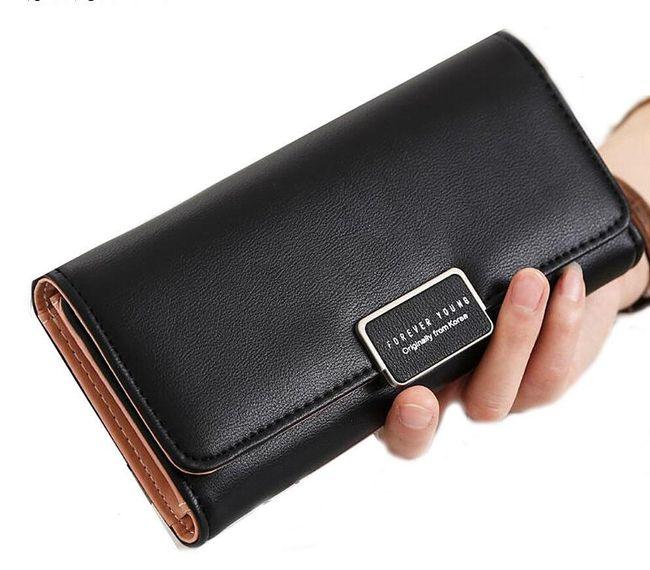Elegantní dámská peněženka - jemné barvy 1