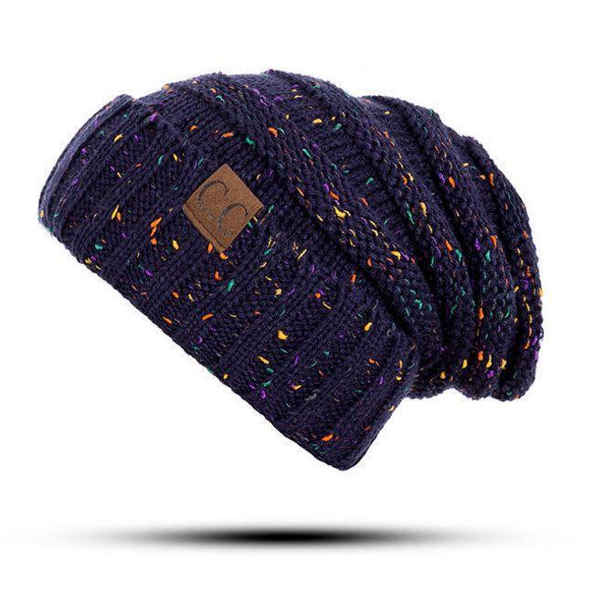 Zimní pletená čepice - 20 variant 1