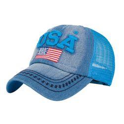 Unisex kšiltovka s vlajkou USA