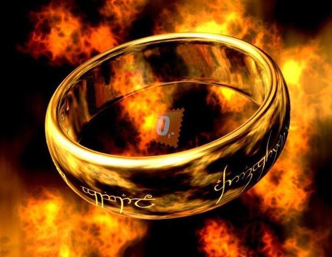 Prstýnek z Pána prstenů, dvě velikosti 18 nebo 20mm 1